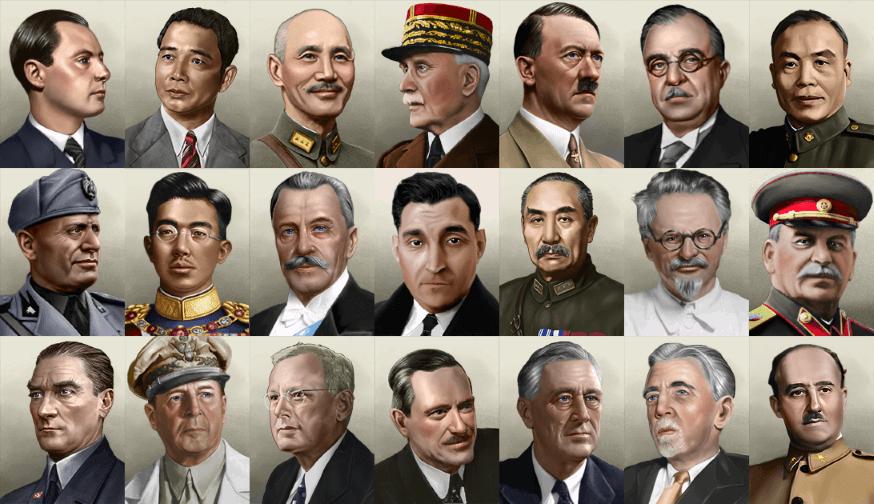Hearts of Iron IV - Разумные портреты / Sensible Portraits