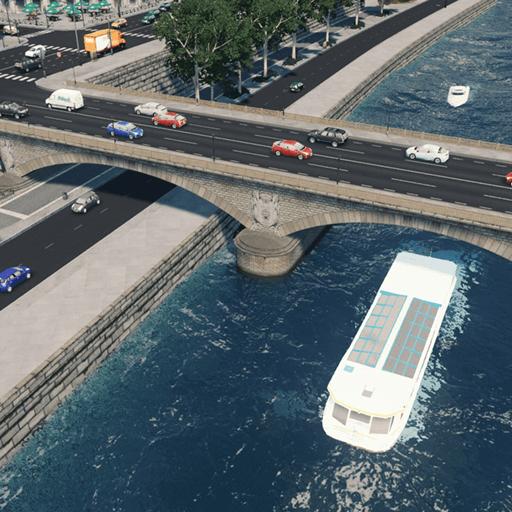 Cities: Skylines - Парижский мост