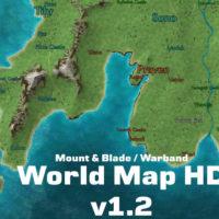 Mount & Blade: Warband — World Map HD (пак текстур)