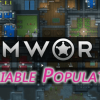 Rimworld - Variable Population