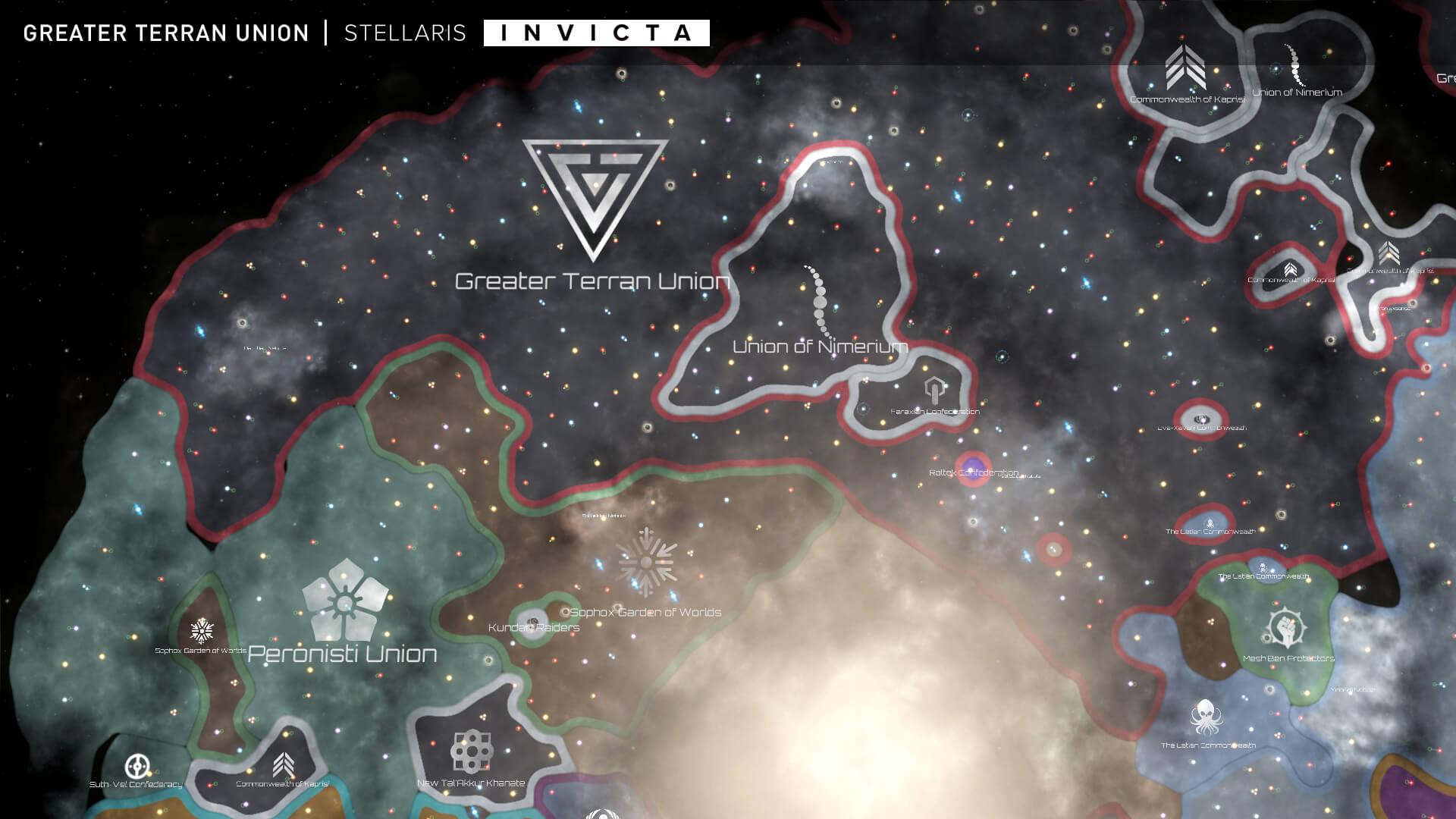 Stellaris - Greater Terran Union | Stellaris Invicta