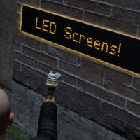 Garry's Mod - LED панели