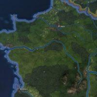 Hearts of Iron IV - WW's + Quam's Map