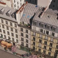 Cities: Skylines - French Flat 57 (Париж)