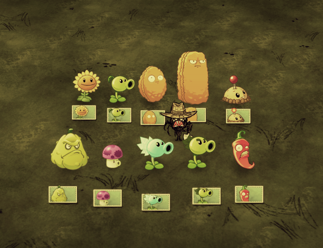 Don't Starve Together - Растения из PvZ (декоративные)
