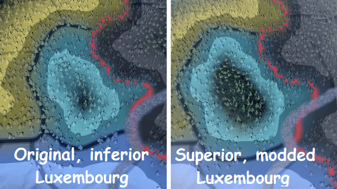 Hearts of Iron IV - Slightly Bigger Luxembourg