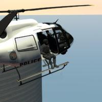 Garry's Mod - Полицейский Maverick из GTA V для WAC