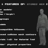 Garry's Mod - Человек из камня (игровая модель)