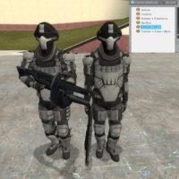 Garry's Mod - Тяжелый SWAT'овец из Payday 2