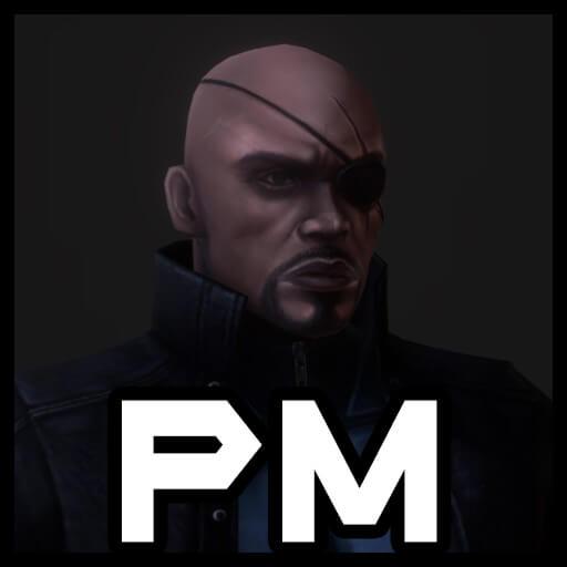 Garry's Mod - Ник Фьюри (модель игрока)
