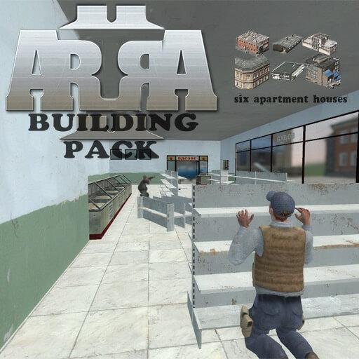 Garry's Mod - Пропы зданий из Arma 2
