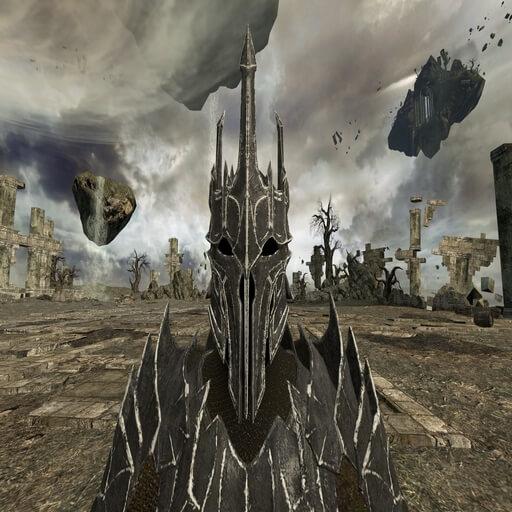 Garry's Mod - Саурон из Shadow of War (рэгдолл и игровая модель)