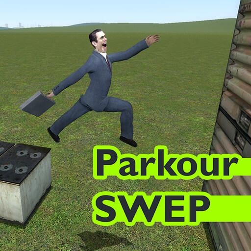 Garry's Mod - Паркур (SWEP)