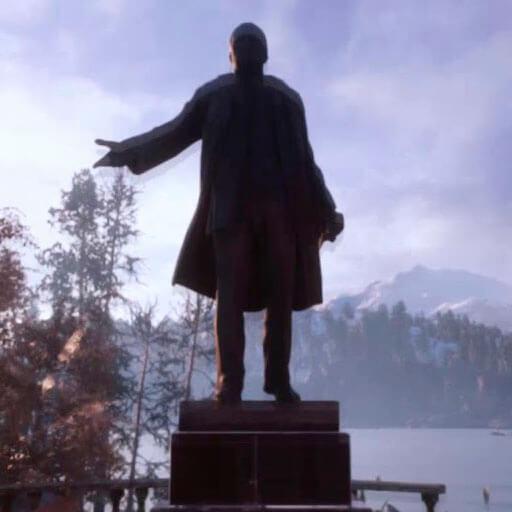 Garry's Mod - Монумент Ленина (пропы)