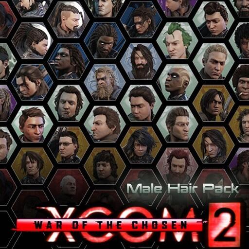 XCOM 2 - Пак мужских причесок для WOTC