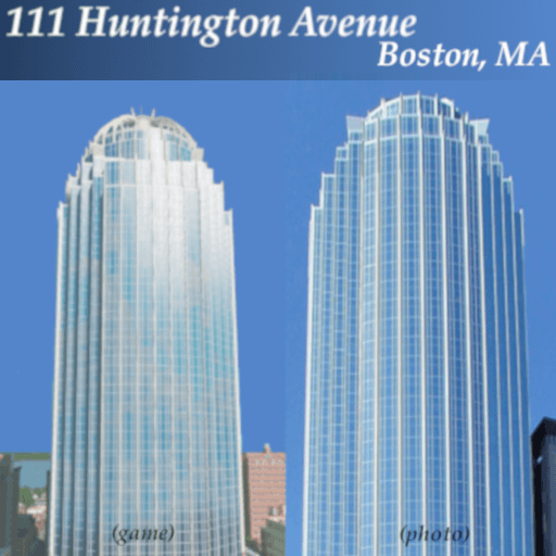 Cities: Skylines - 111 Huntington Avenue