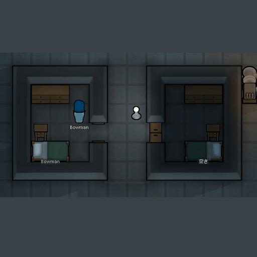 Rimworld - Открытые двери не блокируют свет