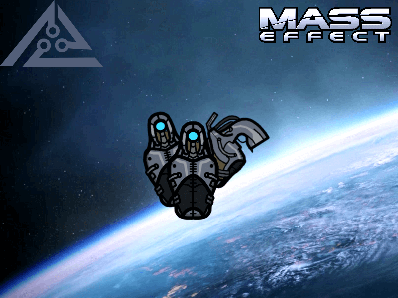 Rimworld - Играбельные геты из Mass Effect