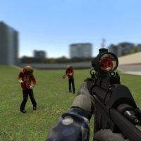 Garry's Mod - Оружие из Hunt Down The Freeman