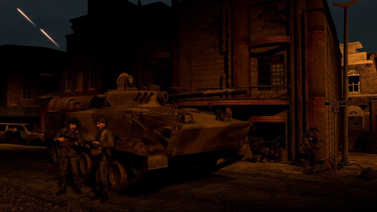 Garry's Mod - БМП-3 и БТР-90 из ARMA 2