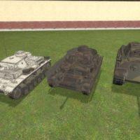 Garry's Mod - Немецкие средние танки {Simfphys-Armed}