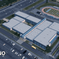Cities: Skylines - Manassas High School