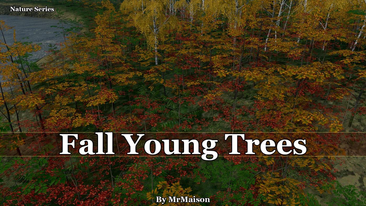 Cities: Skylines - Молодые осенние деревья