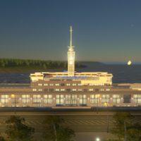 Cities: Skylines - Речной вокзал Нижнего Новгорода