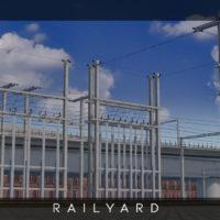 Cities: Skylines - Железнодорожная энергостанция