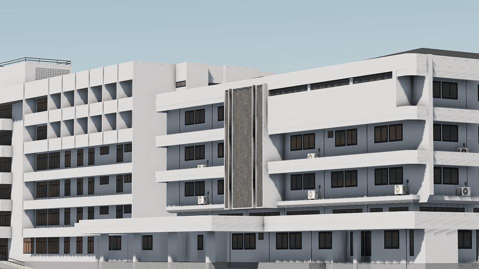 Cities: Skylines - Тайский госпиталь