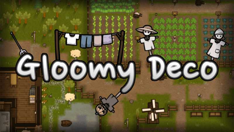 Rimworld - Gloomy Deco