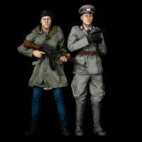Garry's Mod - Гражданские и стражи порядка из ГДР