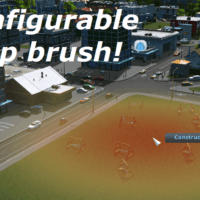 Cities: Skylines - Extra Landscaping Tools