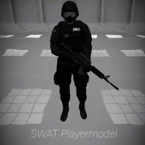 Garry's Mod - Боец SWAT (модель игрока)