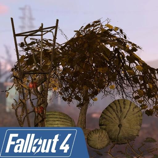 Garry's Mod - Посевные растения из Fallout 4