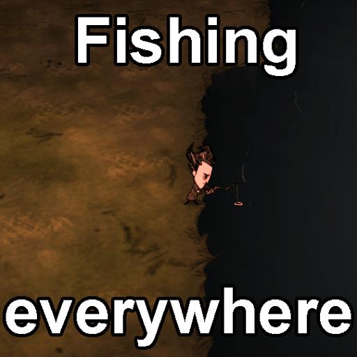 Don't Starve Together - Рыболовство где угодно