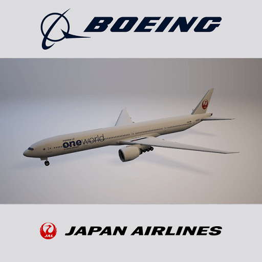 Cities: Skylines - Boeing 777 (Japan Airlines)