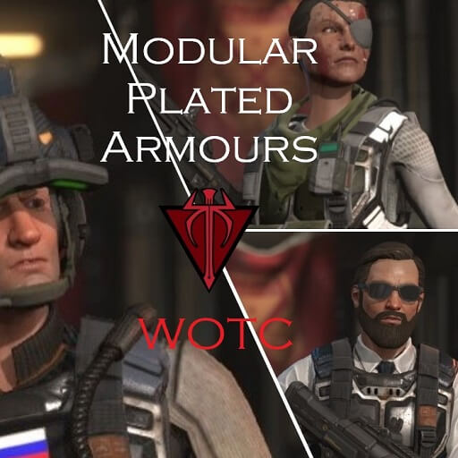 XCOM 2 - Fudge's Modular Plated Armours and Decos