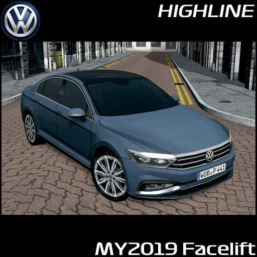 Cities: Skylines - Volkswagen Passat (B8)