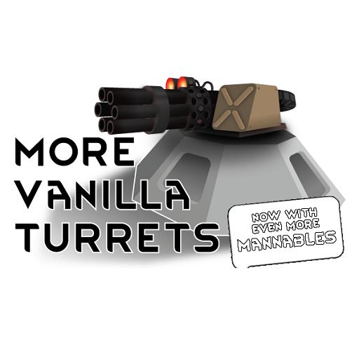 Rimworld - More Vanilla Turrets 1.0