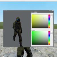 Garry's Mod - Вектор из Resident Evil (модель игрока)
