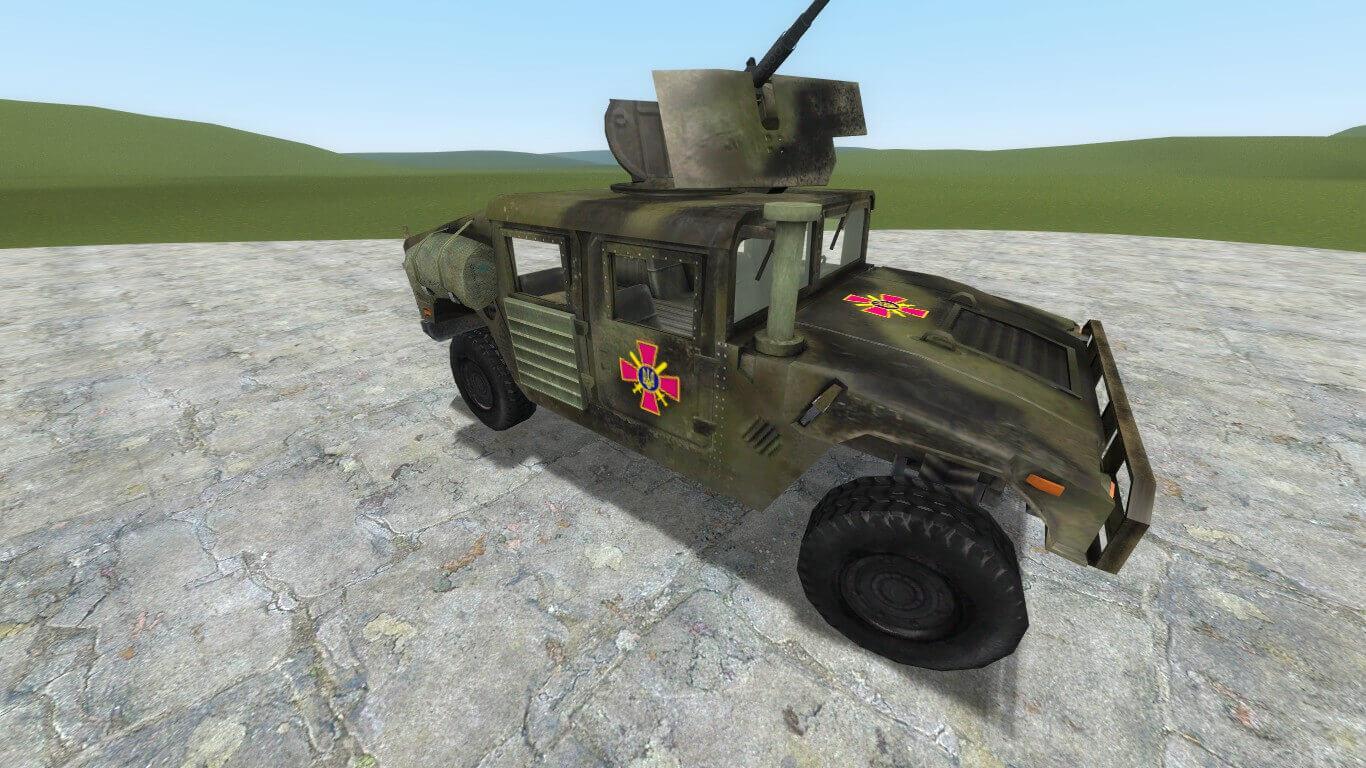 Garry's Mod - HMMWV из Battlefield 2 (Украина)