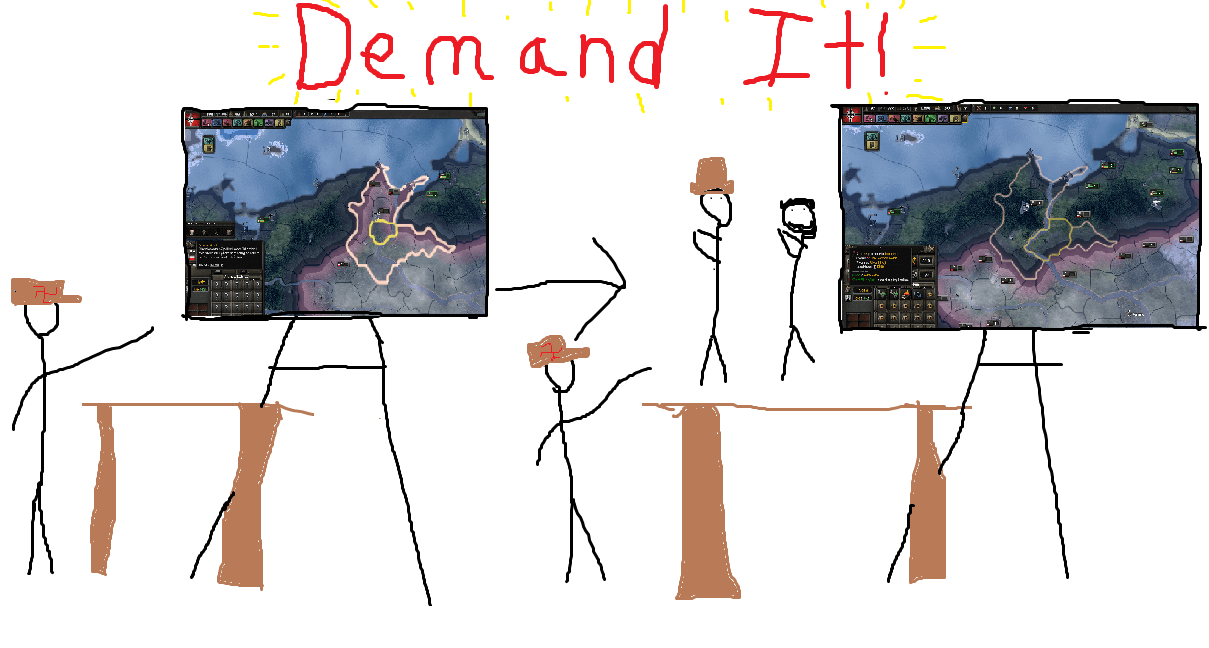 Hearts of Iron IV - Demand It!