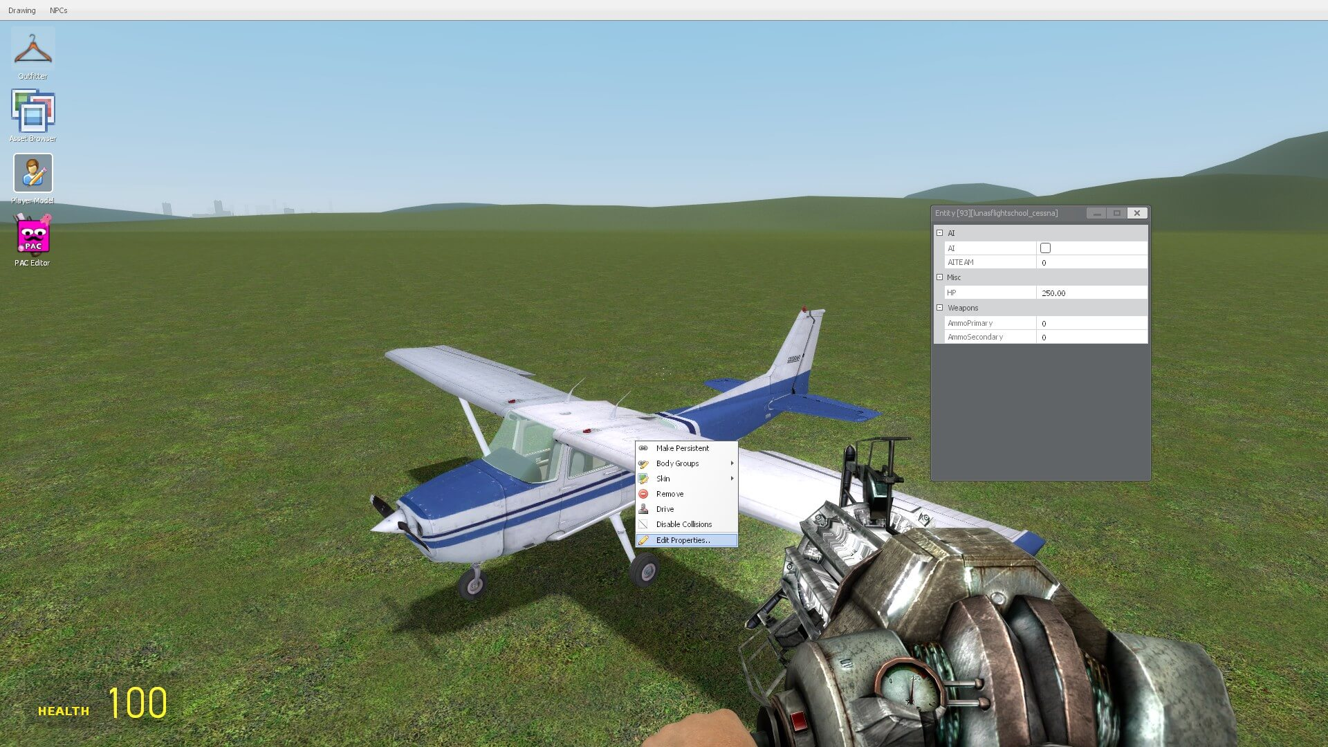 Garry's Mod - [LFS] - Planes
