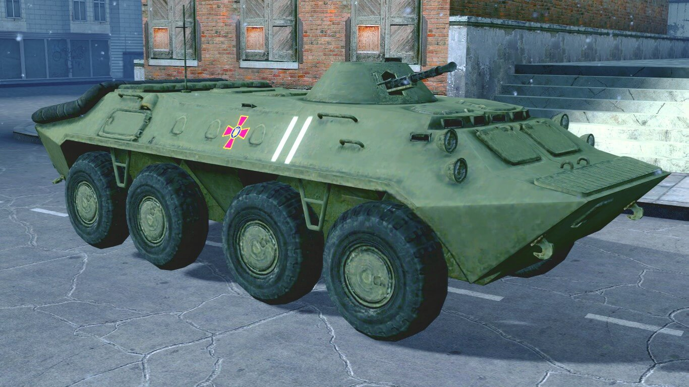 Garry's Mod - БТР-70 из S.T.A.L.K.E.R.