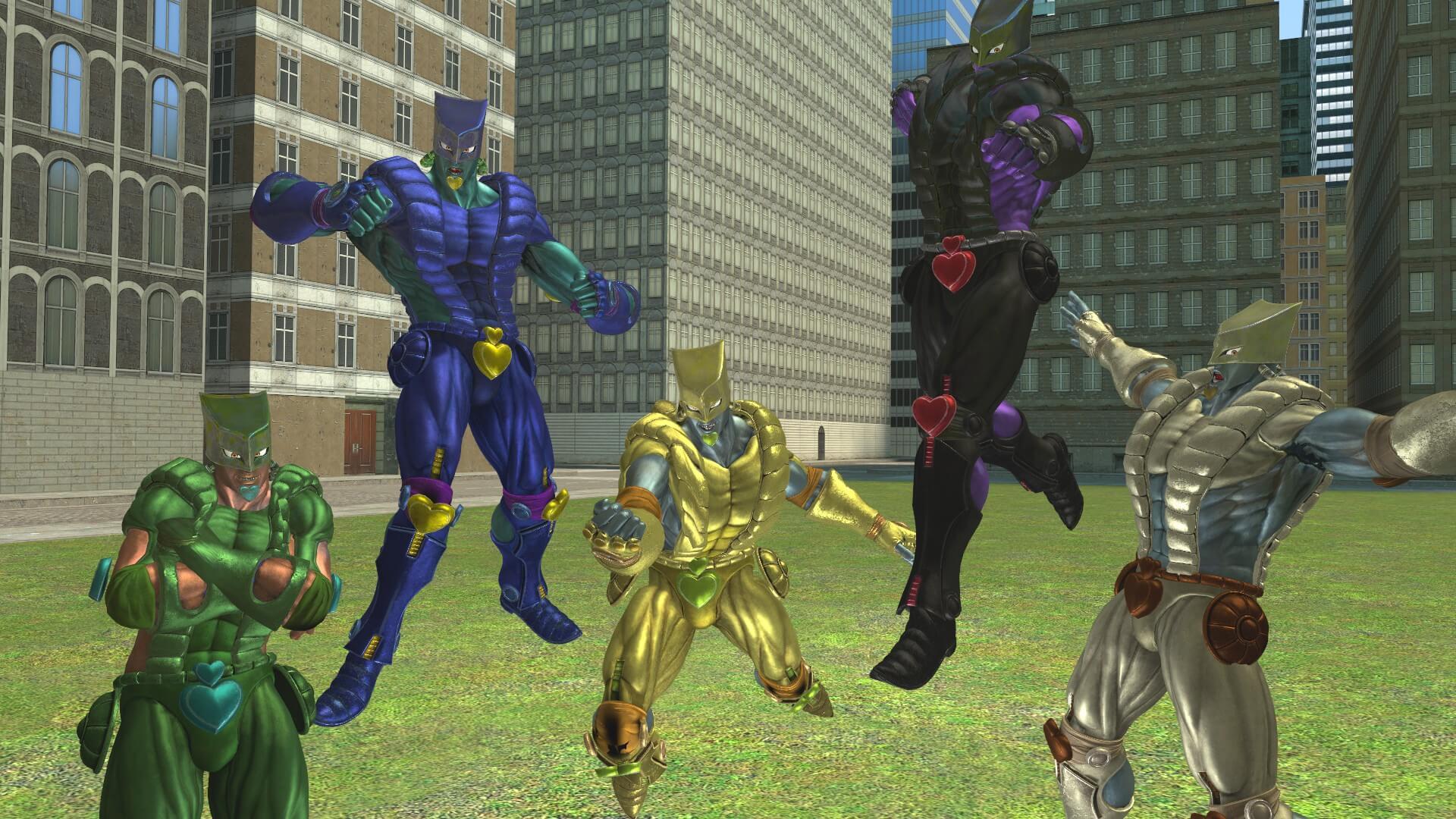 Garry's Mod - The World из Jump Force (модель для игрока)