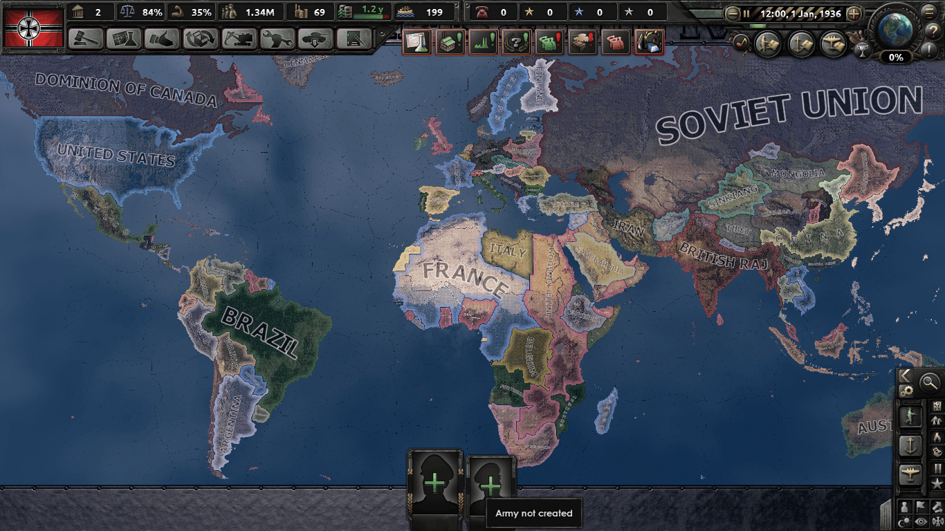 Hearts of Iron IV - Countries Swapped