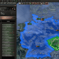 Hearts of Iron IV - Set up rival governments