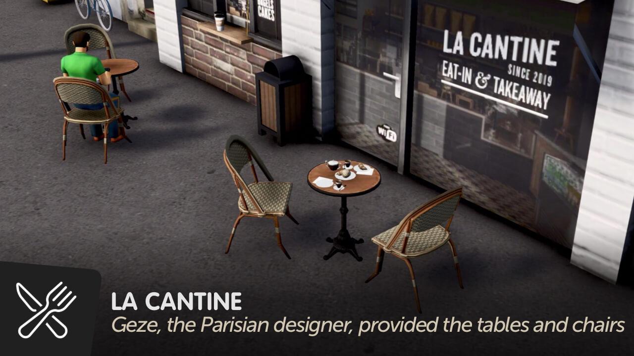 Cities: Skylines - La Cantine