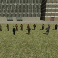 Garry's Mod - Корейская армия (sNPC)